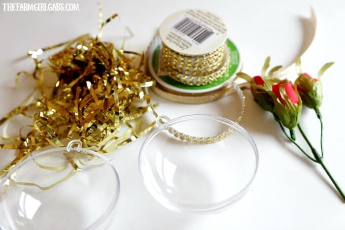 This simple DIY Beauty And The Beast Enchanted Rose Ornament is inspired by the upcoming live-action Beauty And The Beast Film. This is a fun Christmas craft for Disney fans of all ages.