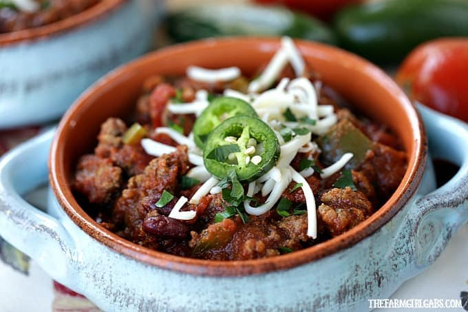 From Game Day to snow day, this Easy Classic Chili recipe is the perfect comfort food.