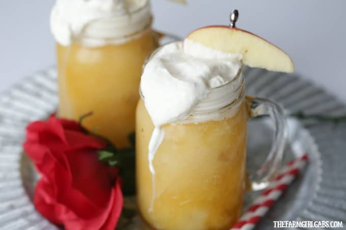 LeFou's Brew is a slushy apple drink popular at Walt Disney World! This deliciously refreshing drink recipe is inspired by the upcoming Beauty And The Beast movie. Now you can make your own LeFou's Brew at home with this simple recipe.