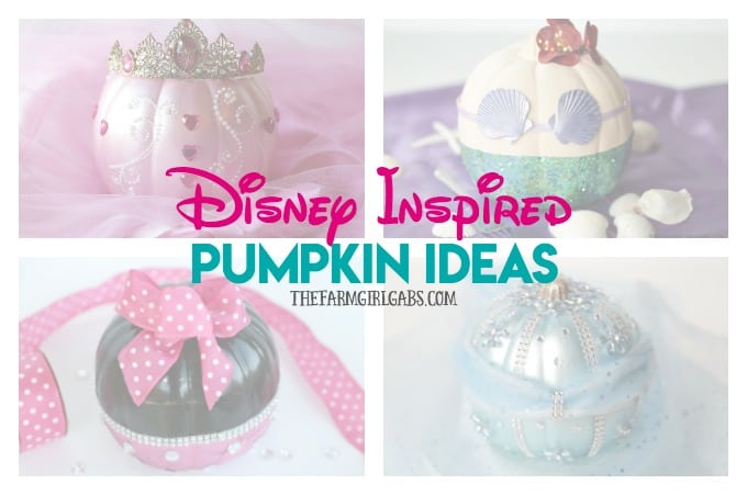 Disney Inspired Pumpkin Ideas