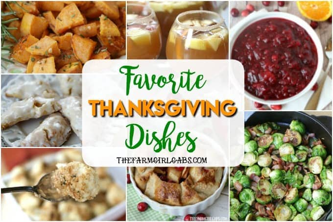 Favorite Thanksgiving Dishes