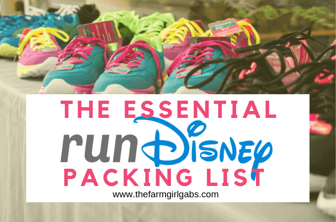 Planning on participating in a runDisney event? Before you go, download this helpful Essential runDisney Packing List so you are prepared.