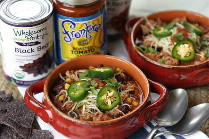 Savor the goodness of this easy Slow Cooker Turkey Chili. Save time by preparing this chili recipe in your slow cooker.