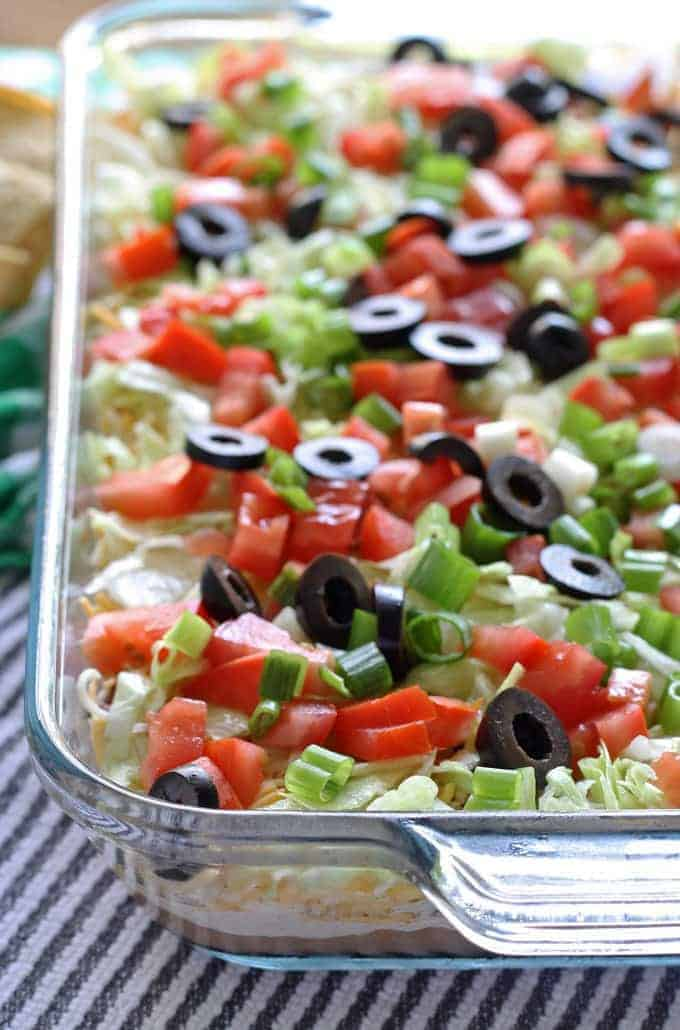 8 layer taco dip recipe