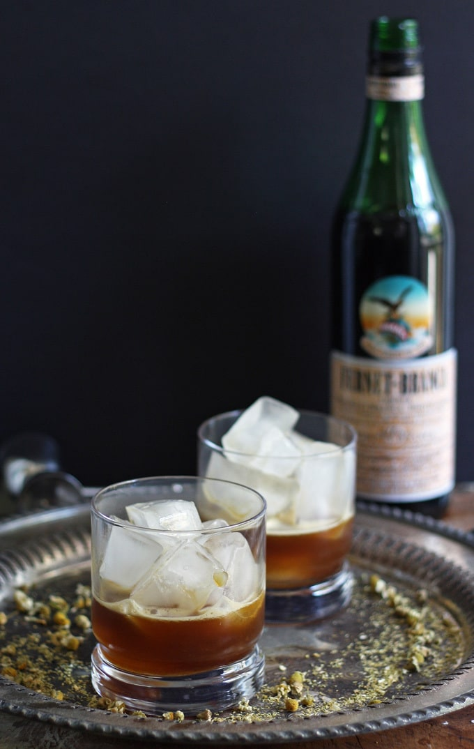 Looking for a new Fernet Braca cocktail? Try this Orange Italian Mule - an easy cocktail with an herbal twist on the moscow mule! #fernetbraca #sp