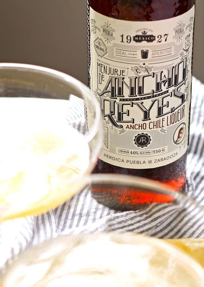 Ancho Reyes ancho chile liqueur bottle