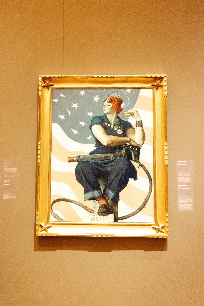 Crystal Bridges Rosie the riveter