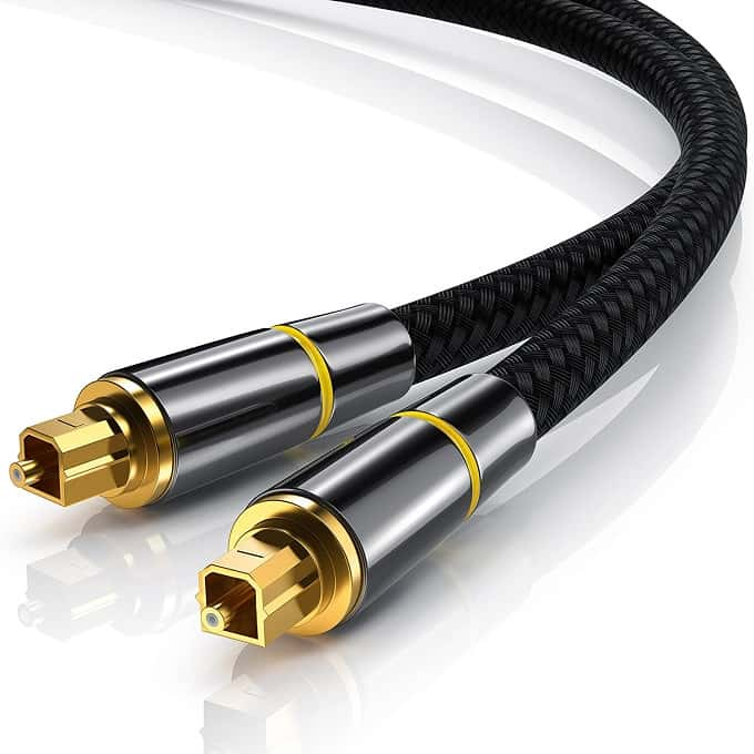 Comprar cable de audio optico