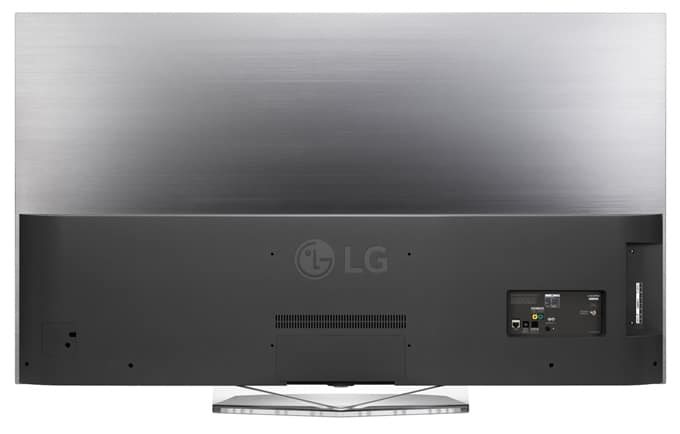 Diseño trasera TV LG 55EG9A7V OLED