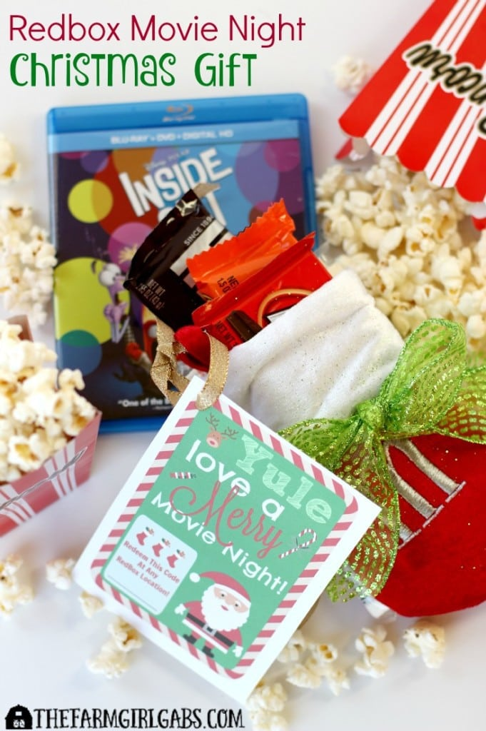 Give A Redbox Movie Night This Christmas. It's an easy gift will provide lots of family fun for the person on the receiving end. [Ad] #GiveALilRedbox #IC