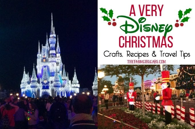 A Very Disney Christmas: The Ultimate Collection of Disney Crafts, Recipes & Disney Holiday Travel Tips