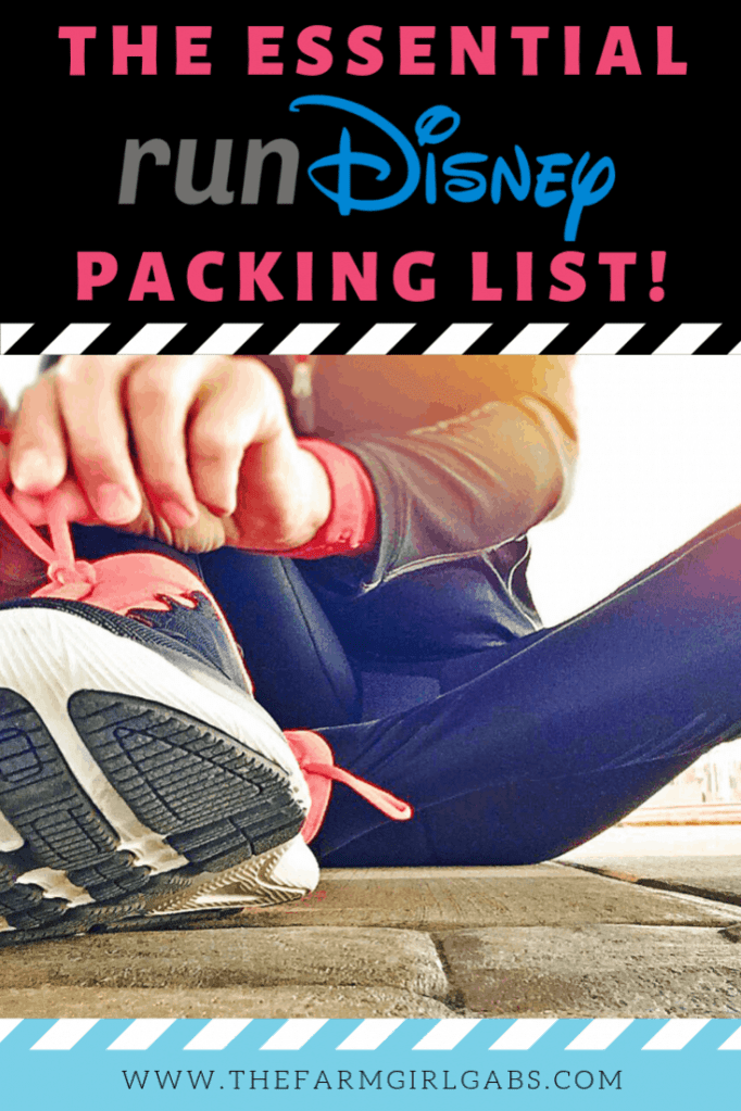 Planning on participating in a runDisney event? Before you go, download this helpful Essential runDisney Packing List so you are prepared. #runDisney #PackingTips #WaltDisneyWorld #Running #Exercise #DisneyTips