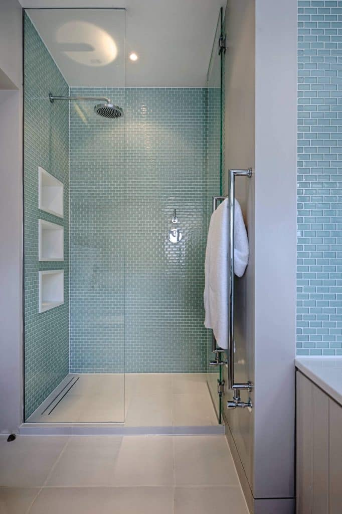 Mini-Teal Subway Tile