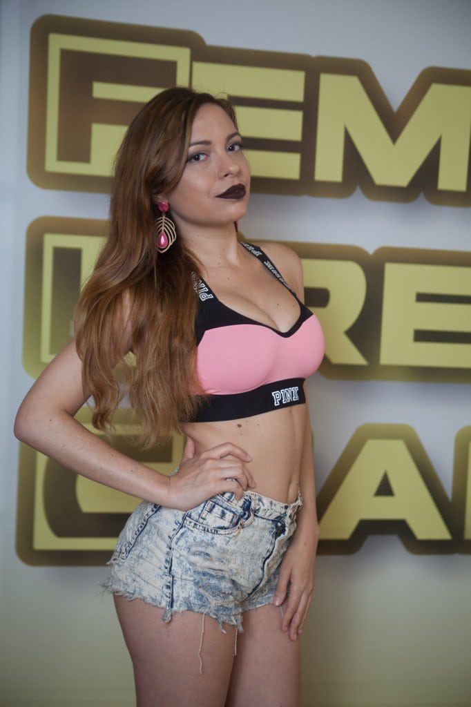 Angelina Edge - Real and Competitive Brazilian Wrestler!