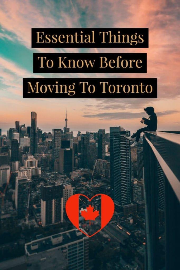 Movingt to Toronto?