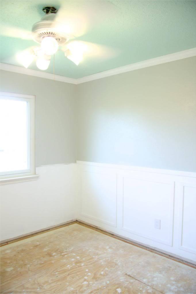 room prepped for vinyl plank flooring
