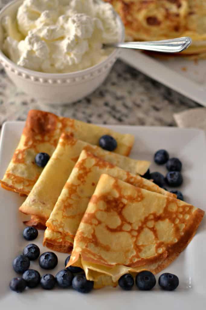 Easy Crepe Recipe