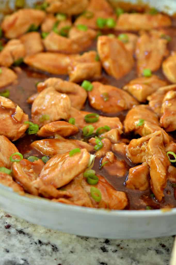 Bourbon Chicken Chinese