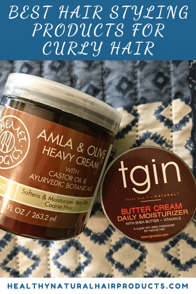 Best hair styling products for curly hair