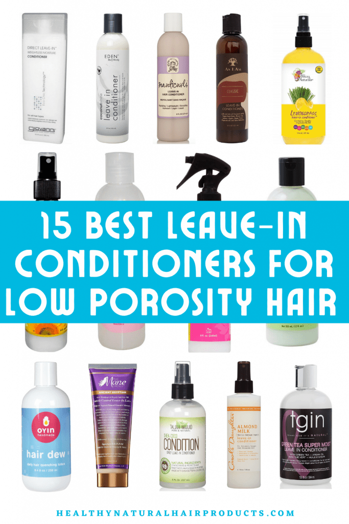 15 Best Low Porosity Hair Leave-in Conditioners