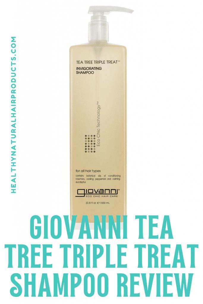 Giovanni Tea Tree Triple Treat Shampoo Review
