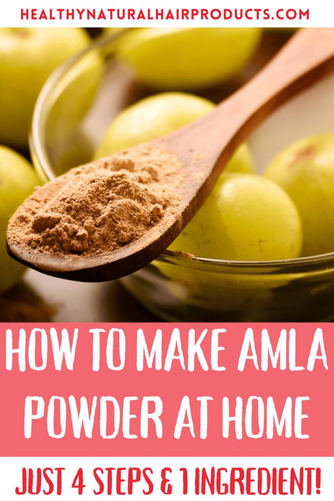 How to Make Amla Powder At Home