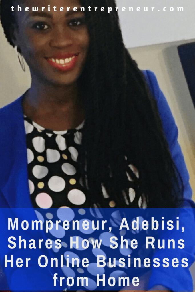 Entrepreneurs Talk - Luxury Shopper Mompreneur shares how she runs her online businesses from home