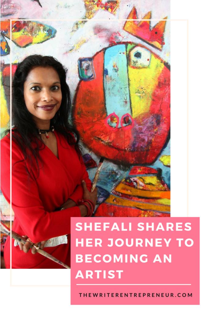 Entrepreneurs Talk with Shefali Ranthe, Artist