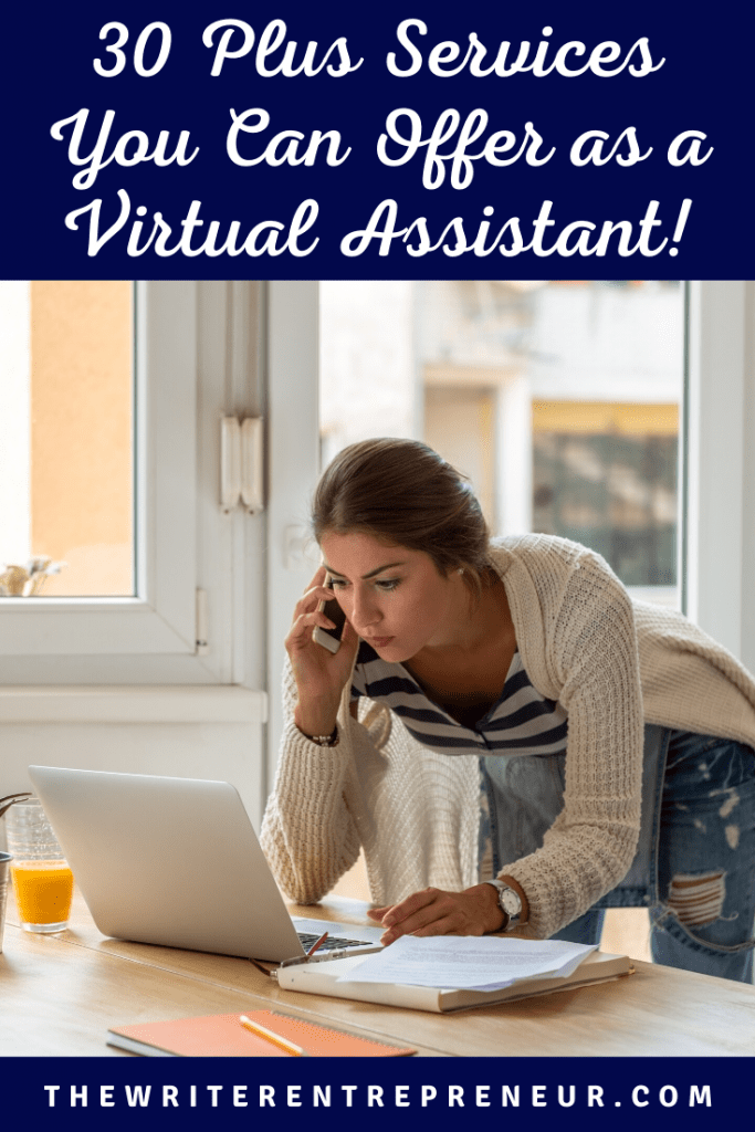 30 Plus Virtual Assistant Services You Can Offer