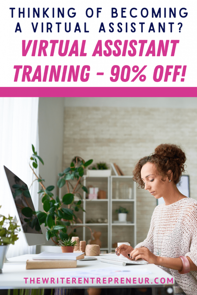 Virtual assistant training 90% off