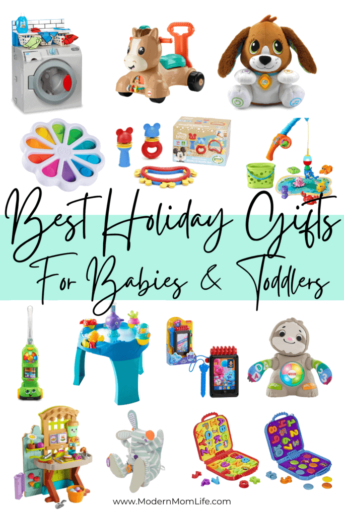 Best Holiday Gifts for BabiesToddlers