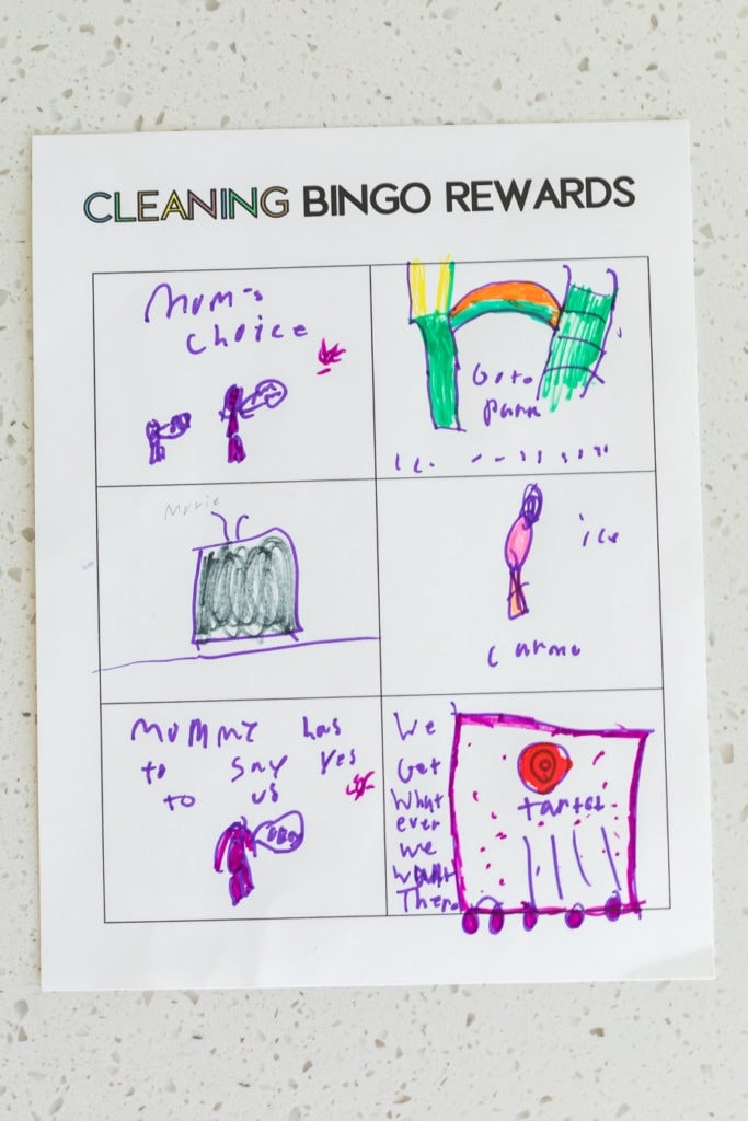 cleaning rewards
