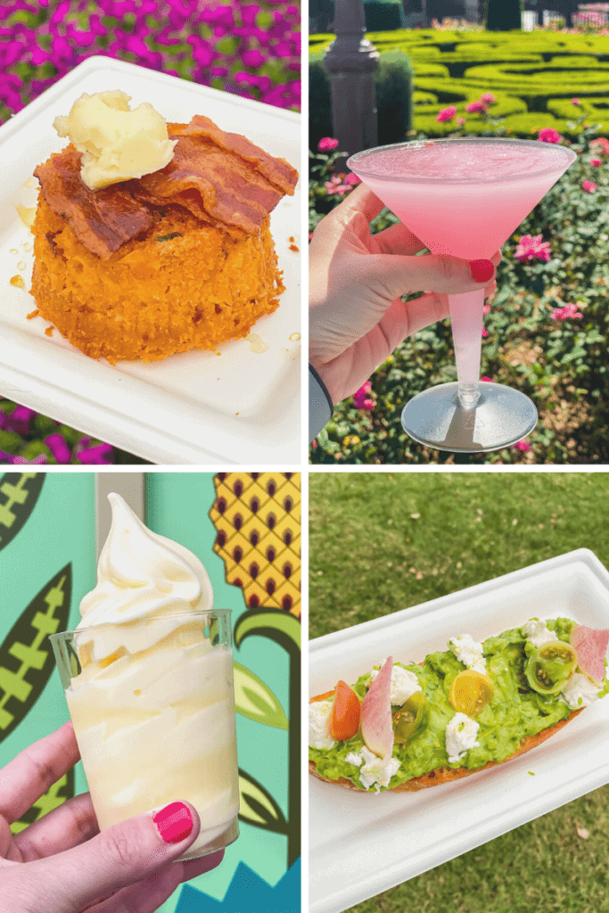 Epcot flower and garden food