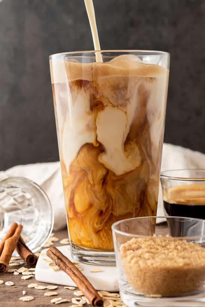 Starbucks Copycat Shaken Espresso with Oatmilk