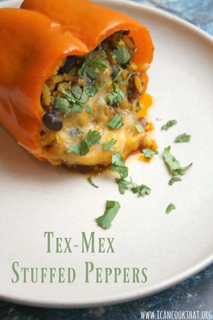 Tex Mex Stuffed Peppers