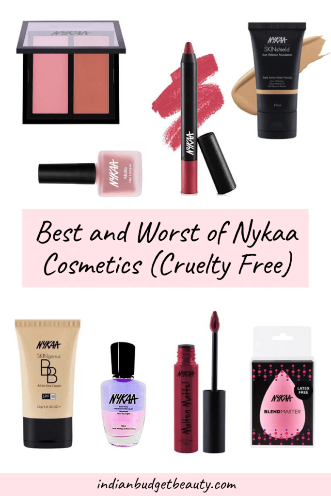 best and worst of nykaa cosmetics