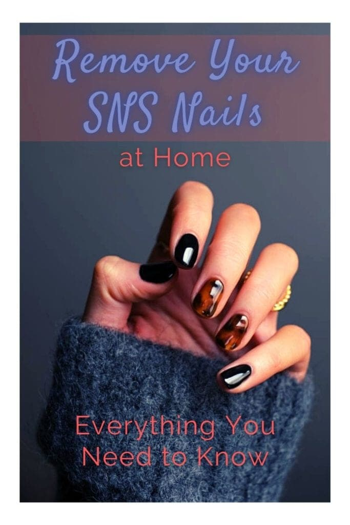 Remove your SNS Nails at Home
