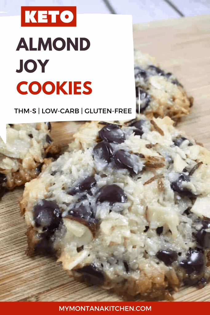 low carb almond joy cookie