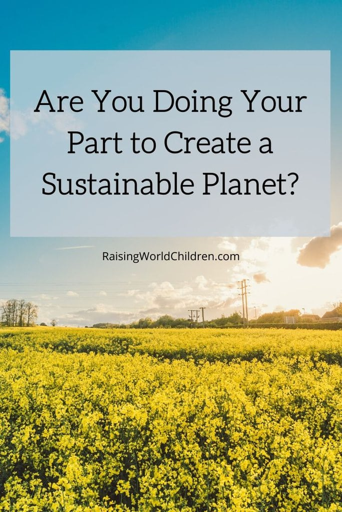 Tips for a Sustainable LIving for a green planet