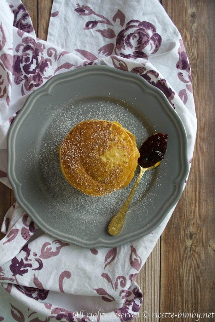 Pancake alla ricotta bimby