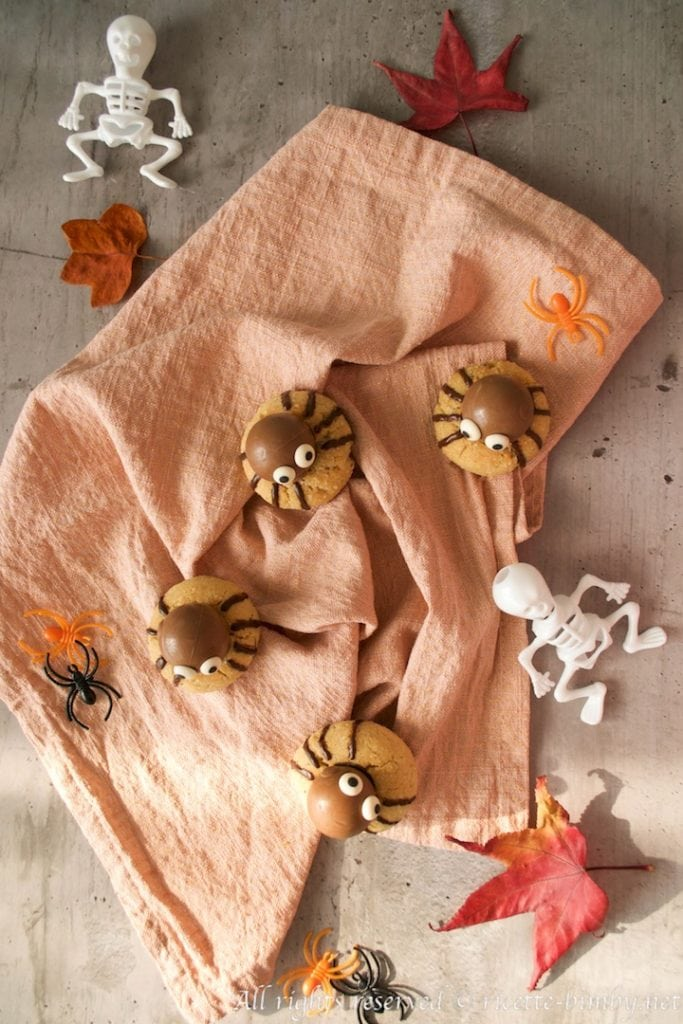 Biscotti Ragno di Halloween bimby