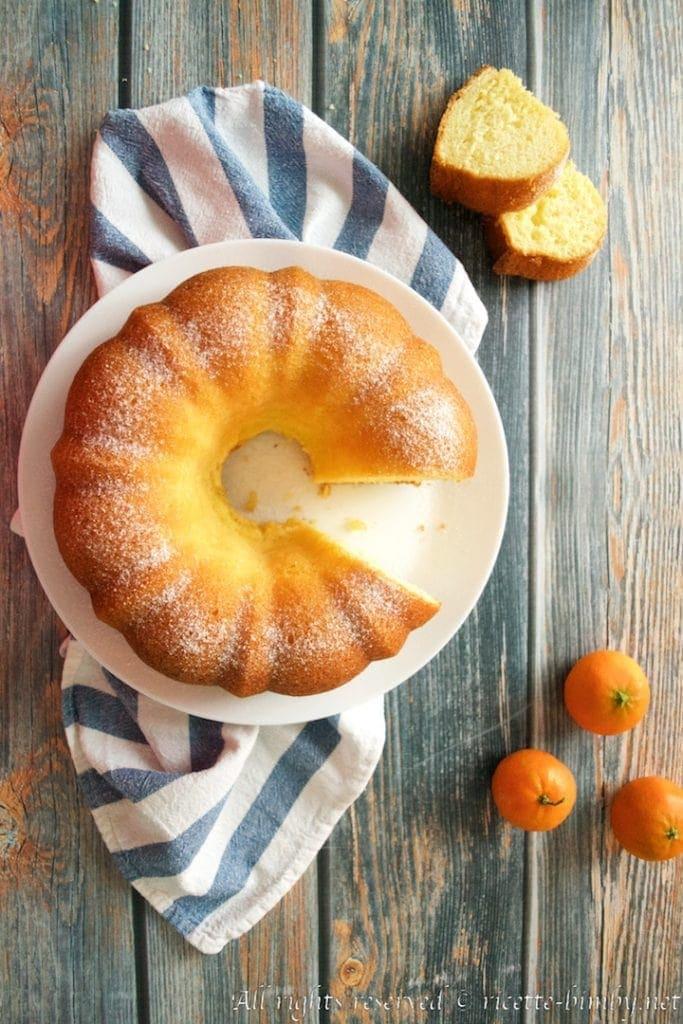 Ciambella yogurt e mandarini bimby