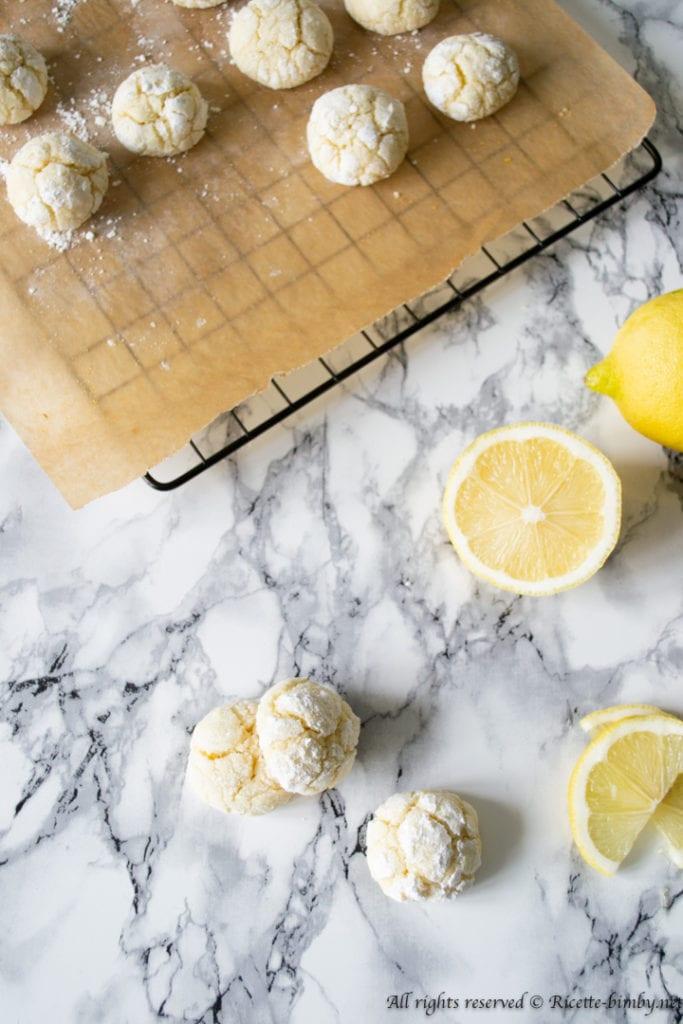 Biscotti al limone morbidi bimby
