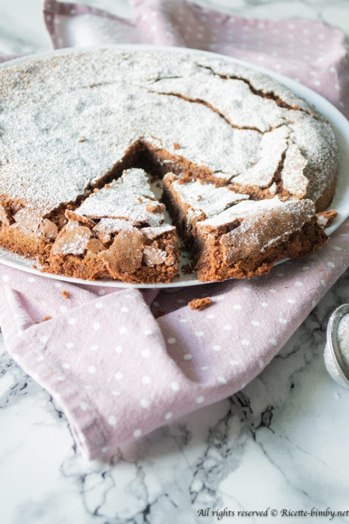Torta tenerina bimby