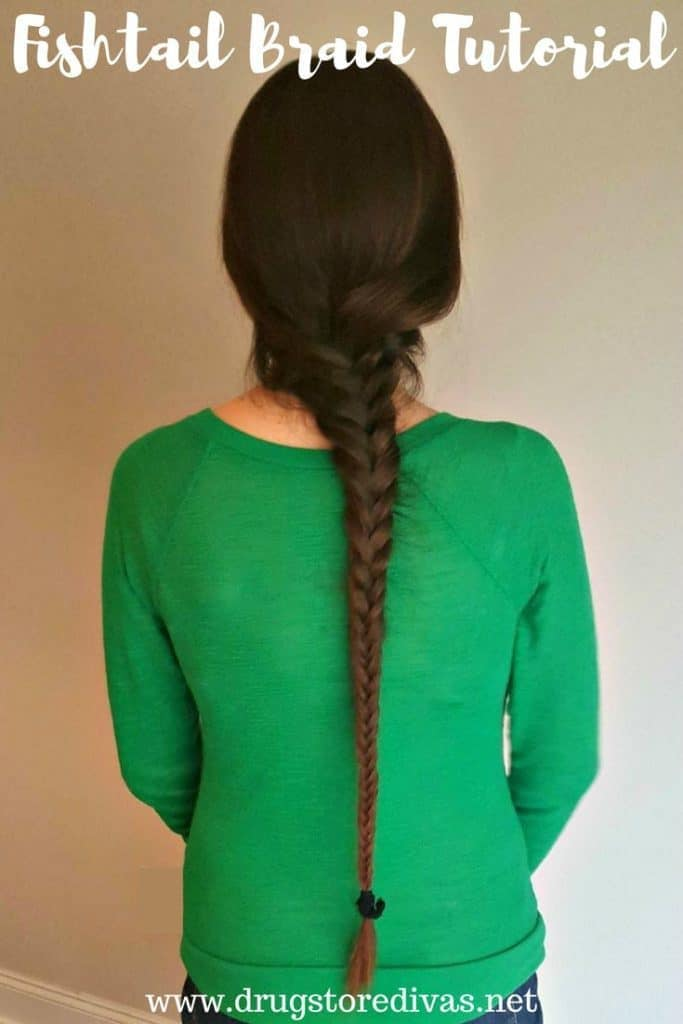If you have super long hair, this is the braid for you. Not only is it nice and neat, but it's simple and easy as well. When the wind starts blowing around, you'll be so happy that you have this braid tutorial to look back on! No one likes rats in their hair, right?!