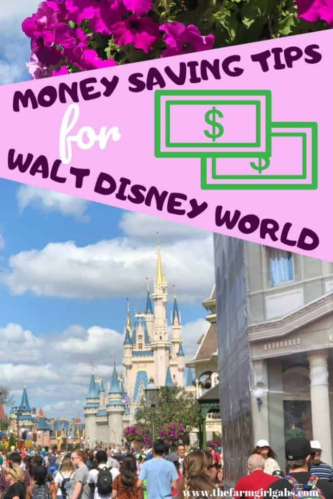 It truly is a magical place but visiting Walt Disney World can put a serious dent in your wallet. Here are some Money Saving Tips For Walt Disney World. #DisneyTips #DisneyOnABudget #WaltDisneyWorld #DisneyWorld