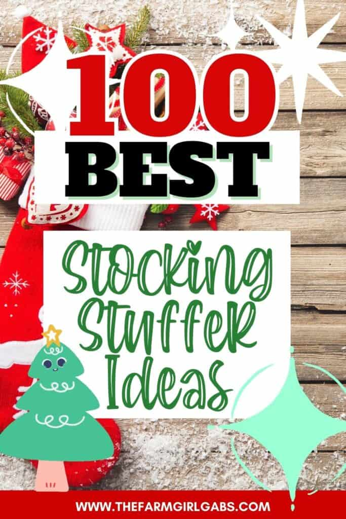 Check everyone off your holiday shopping list. Here are 100 Best Stocking Stuffer Ideas For Everyone On Your Christmas List. This list has stocking stuffer ideas for adults, teens, and kids. Be sure to check out these Christmas stocking stuffer ideas.