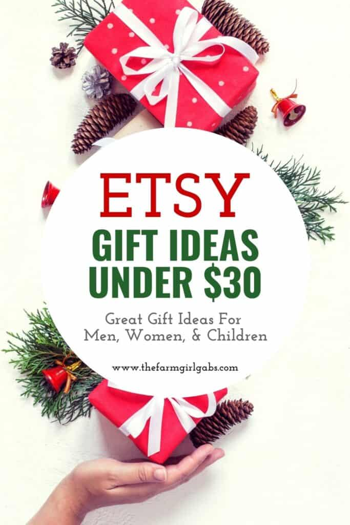 Ready for some cool Etsy gift ideas? Looking for gift ideas for the holiday season? Here Best Gift Ideas Under $30 from Etsy. These holiday gift ideas will make your Christmas shopping easier. This Etsy Shopping list has Christmas gift ideas for men, women, and children.