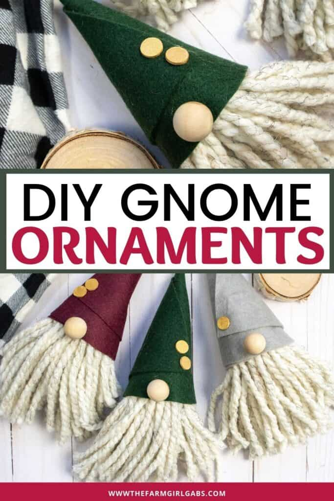 Just chilling with my gnomies. This DIY Gnome Ornament is an easy Christmas craft project. Make this gnome Christmas ornament for your tree. Gnome crafts are very popular right now. This Christmas gnome ornament is an easy holiday craft to make. KIds will love making this gnome holiday ornament too.