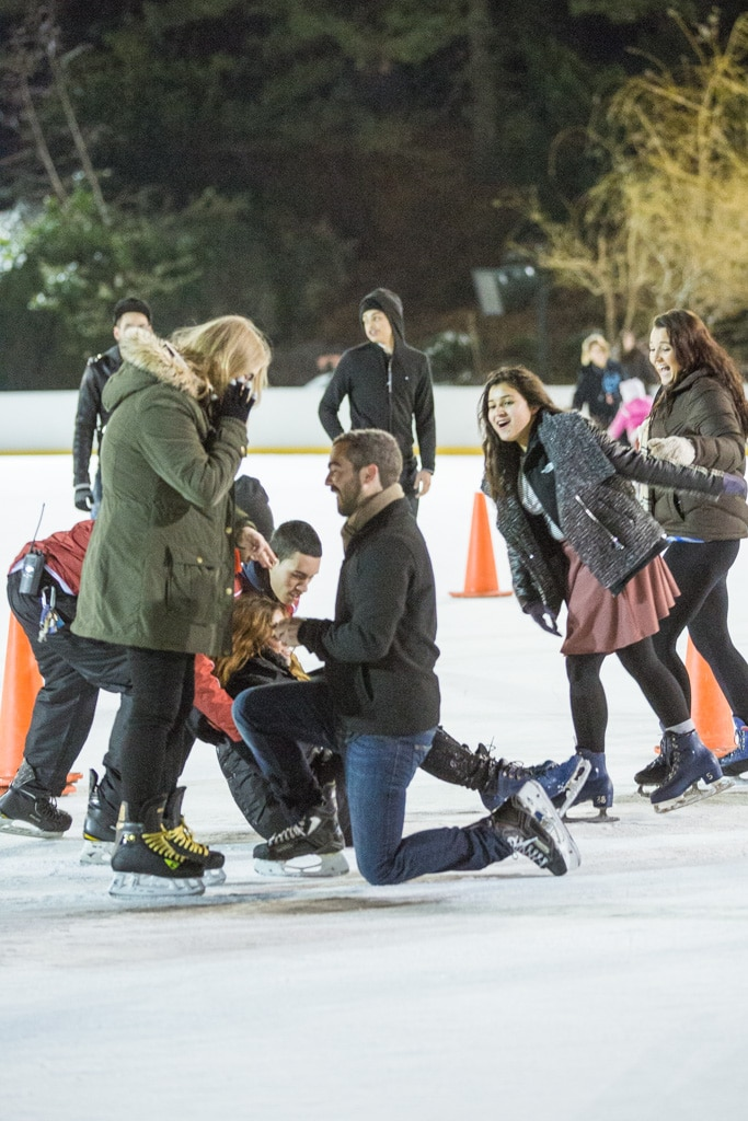 Photo 7 Holiday Season is the most popular time to propose in NYC | VladLeto